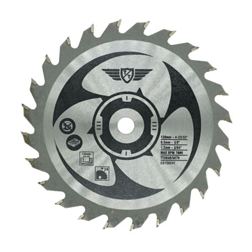 Topstools 120mm TCT Saw Blades For Worx WorxSaw XL Worx WX427 WX429 400W 700W