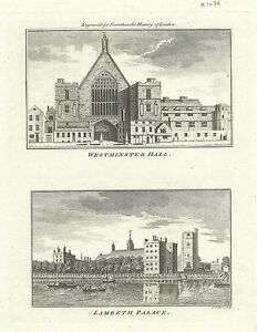 Westminster Hall Map