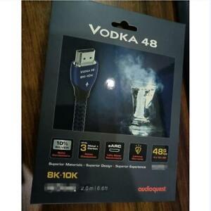 Audioquest Vodka 48 HDMI -  8K-10K - 10% Silver  - length 1,5 m