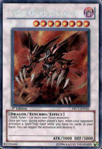 PRC1-EN021 Secret Rare Void Ogre Dragon 1st Edition
