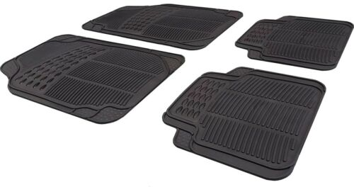 Waterproof BLACK Rubber Car Non-Slip Floor Mats Toyota Aygo