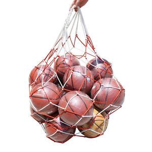 Fussballnetz-10-Baelle-tragen-Netzbeutel-Sport-Fussball-Baelle-Volleyballball-YE-I1