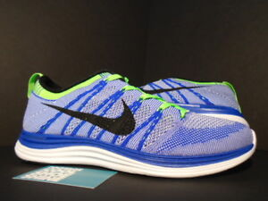 huge discount 72eaa 2a728 Image is loading 2013-Nike-FLYKNIT-ONE-1-ROYAL-BLUE-BLACK-
