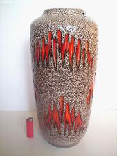 Keramik Fat Lava Bodenvase 517-45 Scheurich floor Vase West-Germany pottery WGP