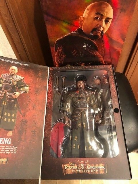 Hot Toys MMS 41 POTC SAO FENG  At Worlds End  1 6 Scale Figure  NEW & MIB
