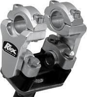 Rox Aluminum Universal Elite 2 Inch Pivoting Risers For 7/8 & 1 1/8 Handlebars