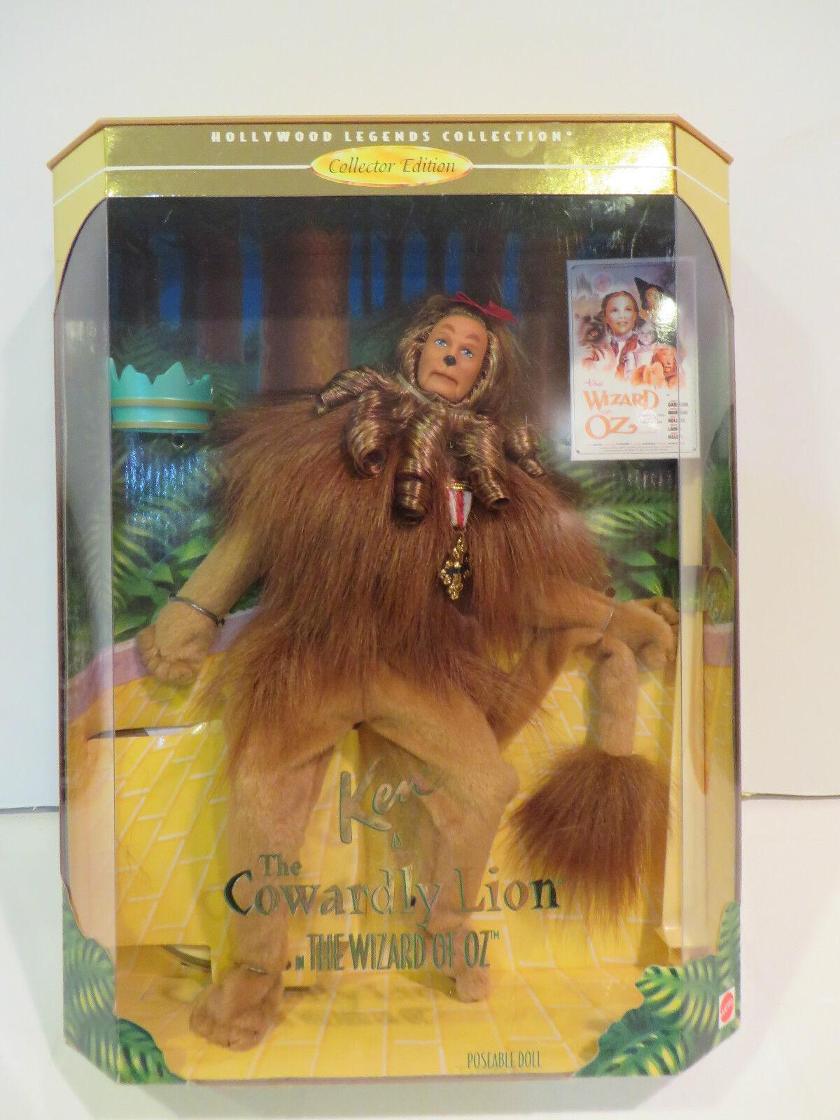 Ken Como El León Cobarde Del Mago De Oz