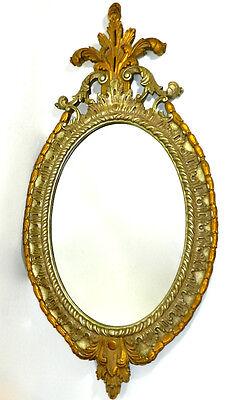 Oval Wall Mirror Ornate