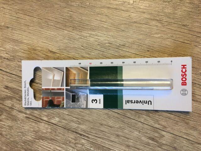 4 Stück Bosch Glasbohrer Fliessenbohrer  Bohrer Ø 3,4,5,8 mm