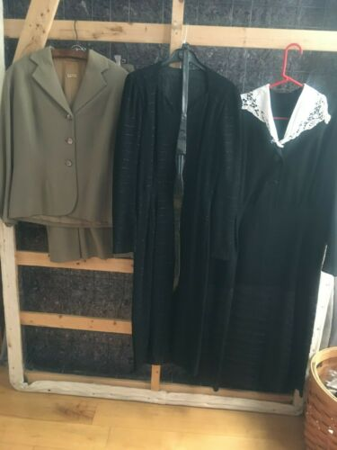 1930's vintage clothing lot for women