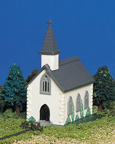 Bachmann Plasticville N  Pre-Built Country Church 45815 NEW