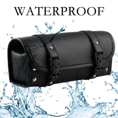 Waterproof Motorcycle Handlebar Bag Fork Storage Pack for Sportster Softail Dyna