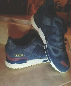scarpe adidas zx 750 blu