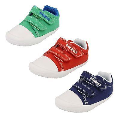 Chicos Clarks Zapatos De Lona-Little Chap