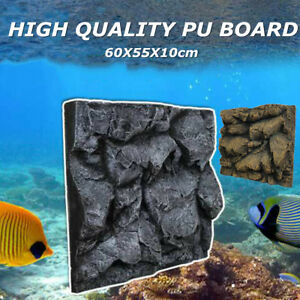 3D-PU-Stone-Aquarium-Background-Home-Fish-Tank-Backdrop-Reptile-Boards-60x55cm