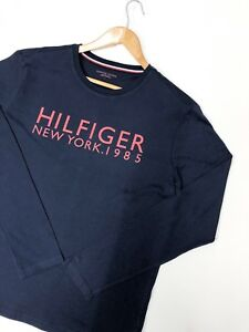 tommy-hilfiger-mens-long-sleeve-t-shirt-with-new-york-print-in-navy