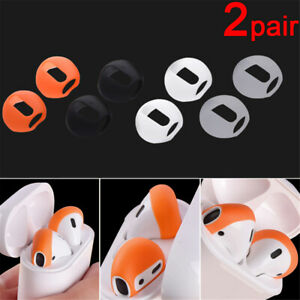 Silicone-Case-Cover-Earphone-Tips-Anti-Slip-Earbud-For-Apple-AirPods-Earpods-New