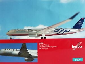 Herpa-Wings-1-500-532693-Vietnam-Airlines-Airbus-A350-900-034-SkyTeam-034