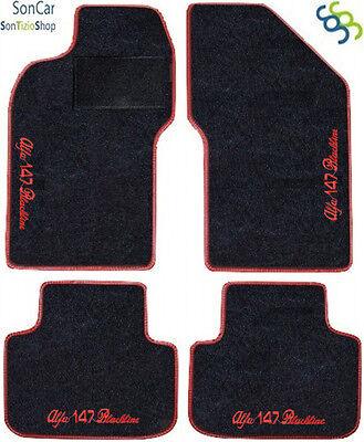 Tappetini 4 Block............9 ALFA ROMEO 147 BLACKLINE Tappeti AUTO Decori