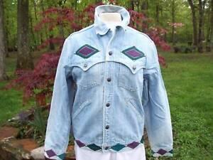 Vintage-Denim-Jacket-Acid-wash-Soft-Rocker-Indie-Levis-Blues-M