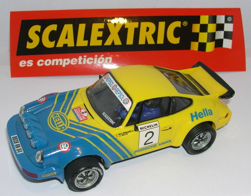 SCALEXTRIC SPAIN ALTAYA RALLYES SPAIN PORSCHE 911 SC B.FERNANDEZ J. L. SALA