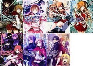 Sword Art Online progressive comic 1-7 vol anime japanese manga