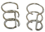 thumbnail 1 - Ear Cuffs Wire Design 925 Sterling Silver You get 2 Pieces 1 Pair # 37