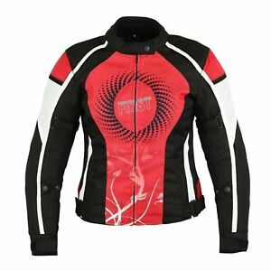 Ladies-Motorcycle-Waterproof-Cordura-Textile-Jackets-Women-Motorbike-Armour-Coat