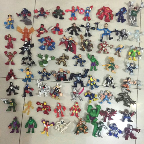 Lot of 10 Marvel Super Hero Squad Avengers X-Men Loose Action Figure Random Sent