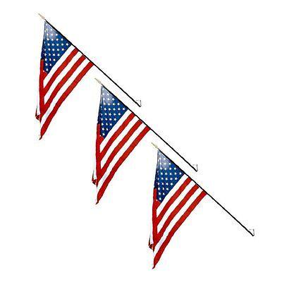 "Aruba 4/""x6/"" Flag Desk Set Table Stick sewn edges"