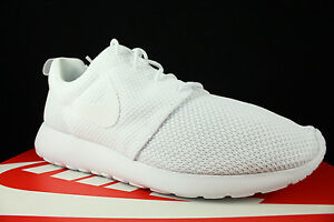NIKE ROSHE ONE TRIPLE WHITE ROSHE RUN 511881 112 SZ 9.5