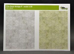 DioDump-DD135-F-Tile-floor-design-F-1-35-scale-diorama-building-accessories