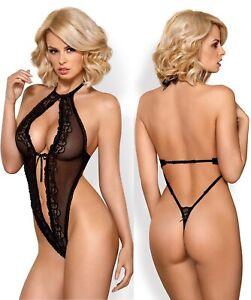 String-Body-de-Obsessive-S-M-L-XL-Sexy-Decollete-Ouvert-Lingerie-Teddy-Vetements-si
