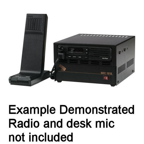 DC Power Supply to Make a Base with Cabinet to fit Kenwood NX-720 /& NX-820