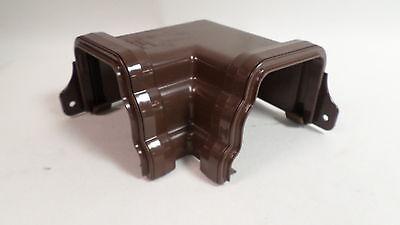 Brett Martin BR89E 106mm External 45 Degree Gutter Angle Ogee Black #7C33