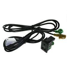 USB+AUX Switch Cable RCD510 310 300 RNS315 Fit VW MK6 GOLF JETTA CC PASSAT B6 B7