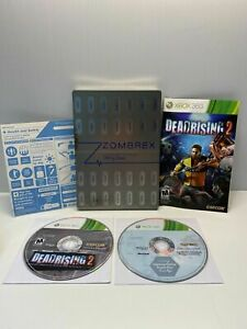 DEAD RISING 2 ZOMBREX EDITION (Microsoft Xbox 360) GAME COMPLETE ZOMBIES w/EXTRA