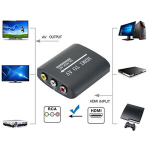 HDMI-to-3RCA-AV-CVBS-Composite-amp-S-Video-R-L-Audio-Converter-Adapter-Upscaler-Y