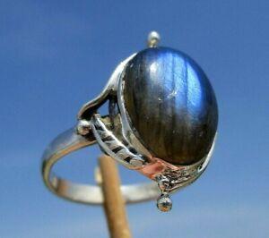 Labradorit-aus-Madagaskar-Ring-Gr-18-75-Silber-925
