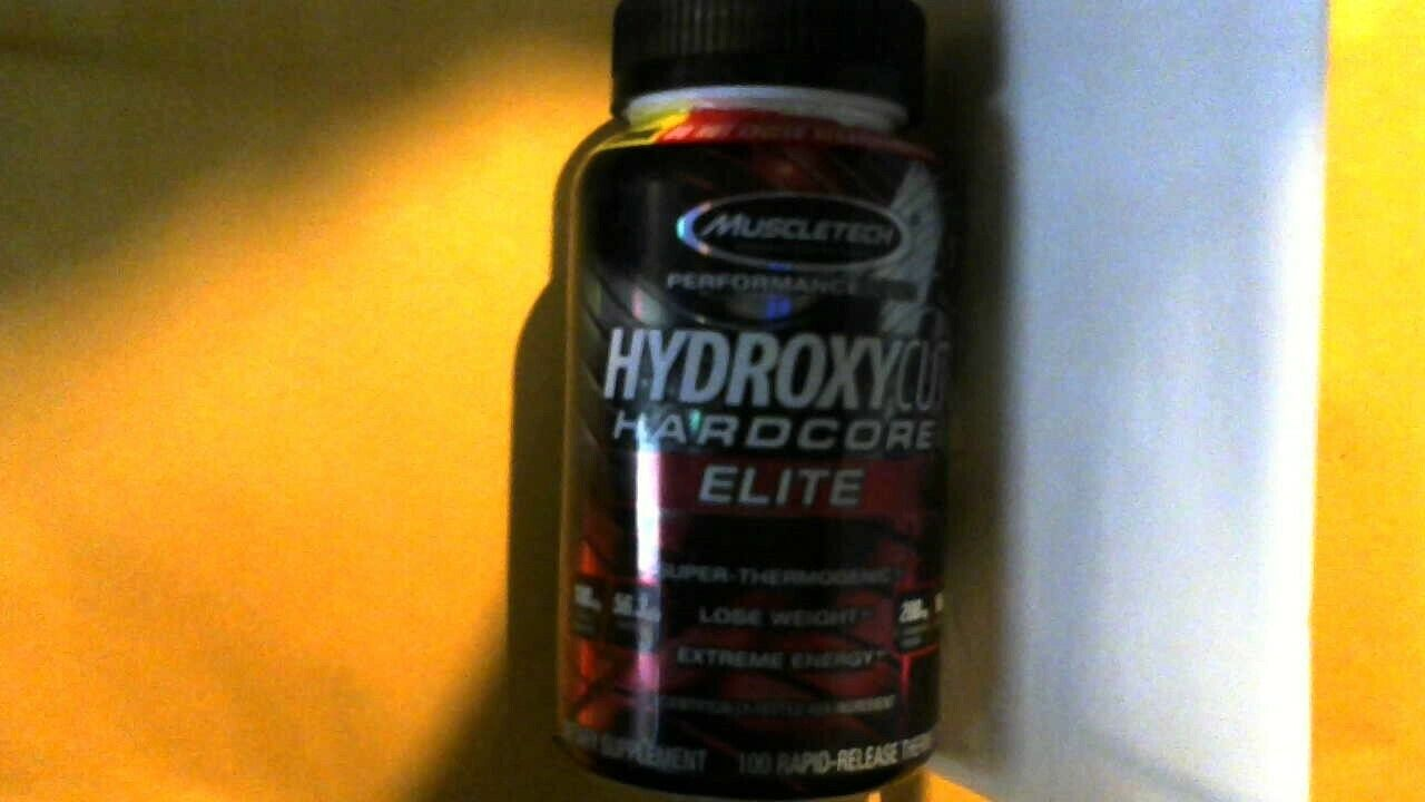 Hydroxycut Hardcore Elite Lose Weight 100 Rapid Release Thermo Caps 08/2020 +