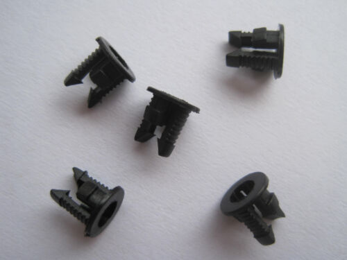 Push Fit 100pcs 3mm Black Plastic LED Bezel Clip Holder Holders Cup Mounting