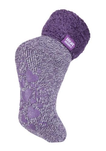 Heat Holders Ladies Anti Slip Low Cut Thermal Ankle Lounge Slipper Bed Socks