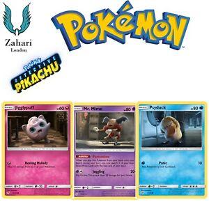 Pokemon-Detective-Pikachu-English-Individual-Single-Trading-Cards-In-Stock