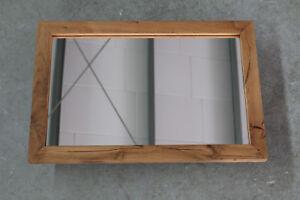Spiegel Eiche Wild Massiv Holz Spiegelrahme Rahme Wandspiegel