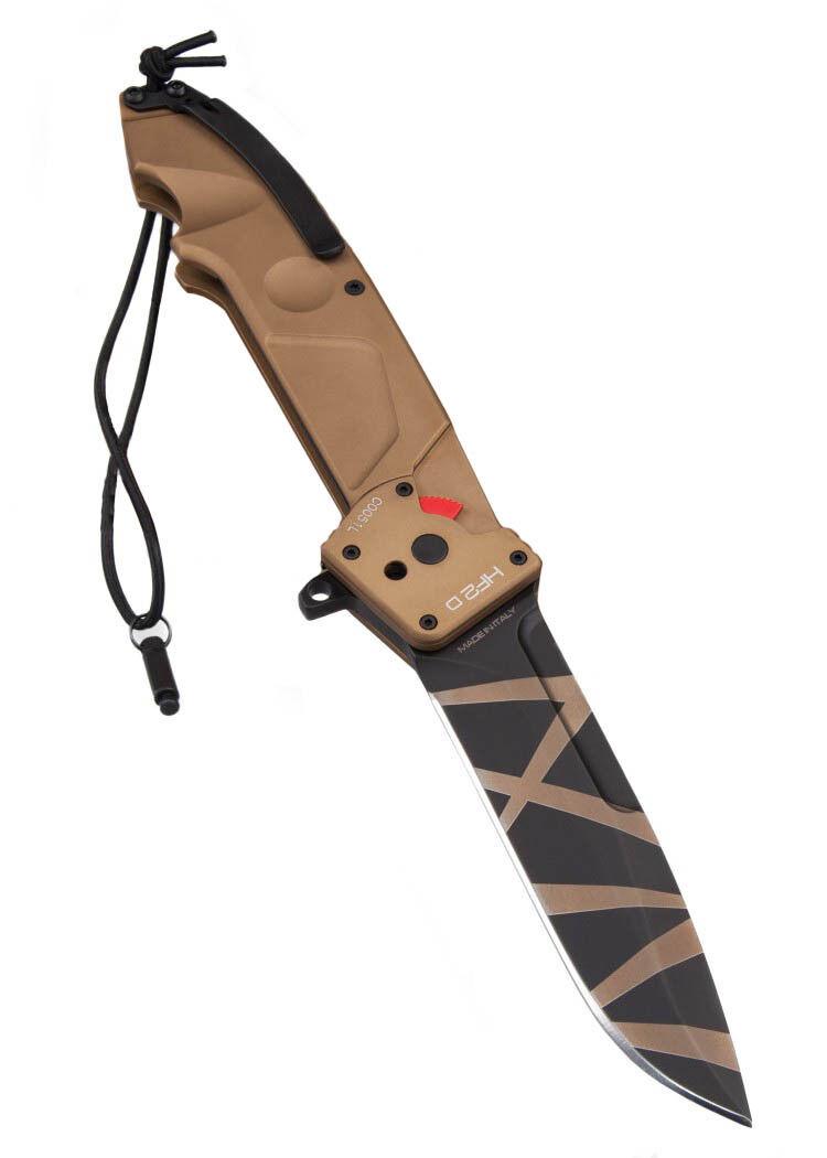 Extrema Ratio Taschenmesser H.F.2 Drop Point Desert Warfare 30,5cm Klappmesser