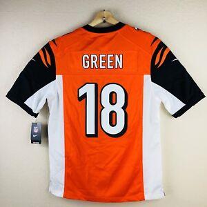 2cca34a64 Nike AJ Green #18 Cincinnati Bengals On Field Jersey Men Size Large ...