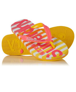 Superdry Womens Eva Stripe Flip Flop