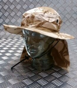 Bush Hat Desert Camo Atc Cadets Genuine British Army Issue Dpp Boonie New At Any Cost