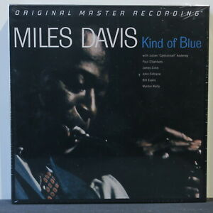 MILES-DAVIS-039-Kind-Of-Blue-039-Ltd-Edition-MFSL-45rpm-180g-Vinyl-2LP-NEW-SEALED