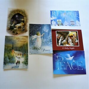 Trimmerry Inspirational Assorted Christmas Cards & Envelopes 30 Count Christian